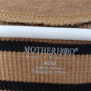 Motherhood Maternity Tops - Motherhood Maternity Long Sleeve Scoop Neck Shirt